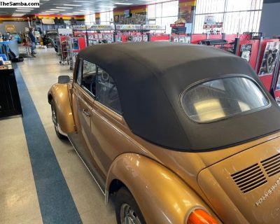 Amazing Solid Arizona 1974 VW Convertible