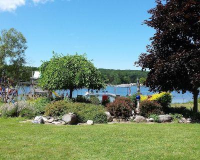 Intermediate Lake in Central Lake, Mi, Critts Cove Cottage - Central Lake