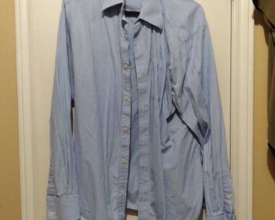 Men's Industry button up shirt size large