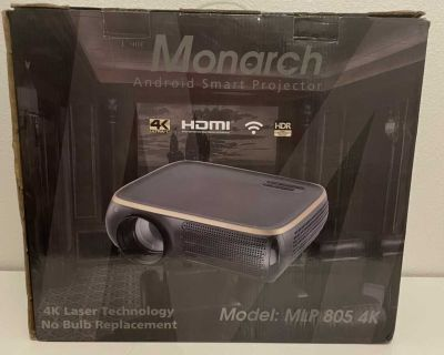 Monarch Android smart projector
