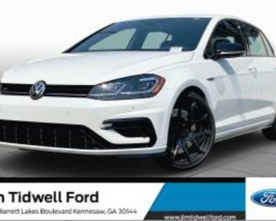 2019 Volkswagen Golf R Manual with DCC & Navigation
