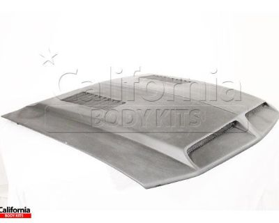 Cbk Frp Shel Gt Cowl Hood Kit Auto Body Ford Mustang 05-09 Ship From Usa