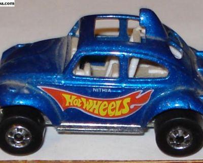 1998 Hot Wheels Blue Baja Bug Beetle