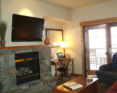 Ski-In/Ski-Out Condo with Large Covered Patio & Hot Tub Access - Whitefish