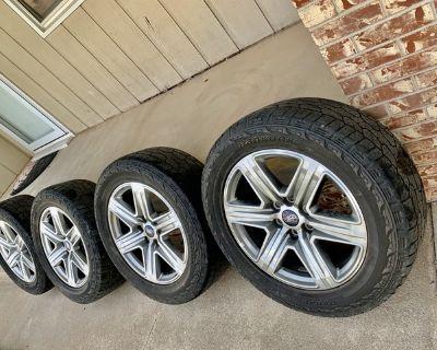 20 F-150 Sport tires & Wheels