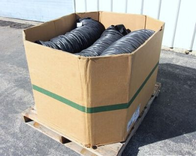 """Lot of (6) 12"""" X 25' Hitex Heater Ducting High Temp Construction Heater Ducting"""