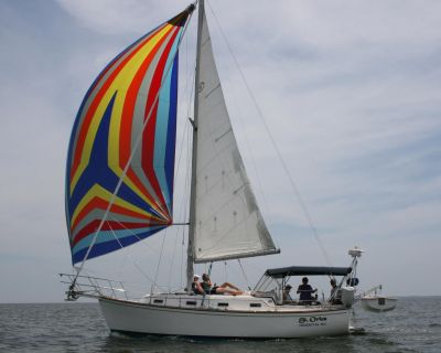 1984 Island Packet 31 with centerboard