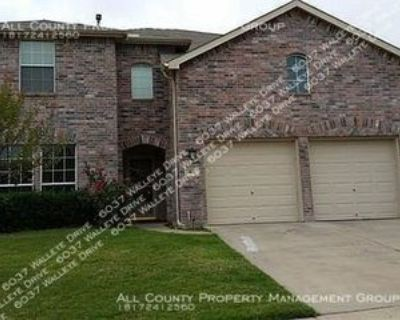 6037 Walleye Dr, Fort Worth, TX 76179 4 Bedroom House