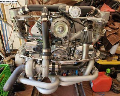 2180cc Complete Dual Weber Turbo Engine