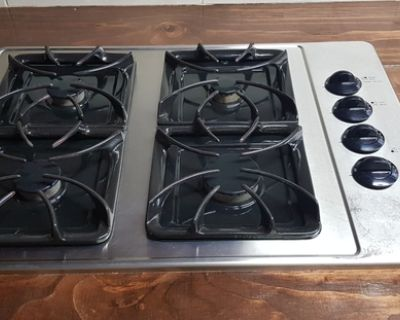 Frigidaire natural gas cooktop