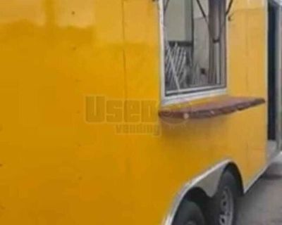 Licensed 2021 Commercial Mobile Kitchen / Used Food Concession Trailer