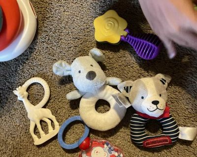 Rattles and teether
