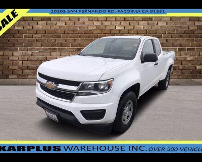 2018 Chevrolet Colorado Work Truck Ext. Cab 2WD