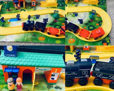 Vintage Rare Find! - Little Lionel Memory Lane Route My First Train Set
