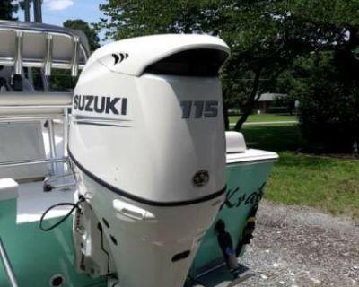 2017 southern cross 18 with 2020 Suzuki 115