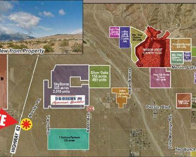 3.31 ac Investment Land, Desert Hot Springs Sphere