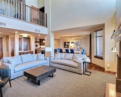 Hyatt, Luxury Penthouse, 3.5 Bedroom/3.5 Bath, best location renovated Jan 19' - Park City