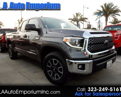 Used 2018 Toyota Tundra 2WD SR5 Double Cab 6.5' Bed 5.7L (Natl)