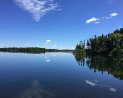 Secluded Bay, Private Peninsula, Gorgeous Lake Views, Clean Water On Quiet Lake - Nashwauk