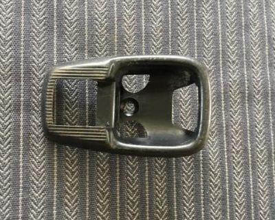 German interior handle cover black