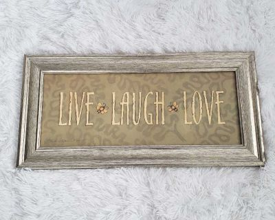 Live Laugh Love Framed picture