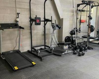 Complete Upgraded Home Gym, Long Beach, CA