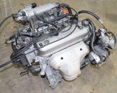 Jdm F22b Engine Sohc 2.2l Honda Accord 94-97 Lx Dx Odyssey