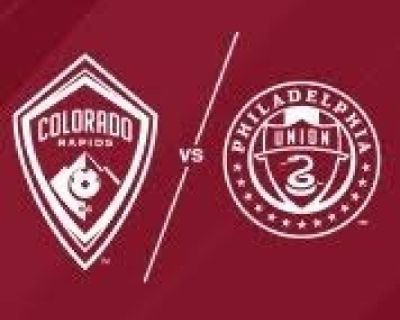 Colorado Rapids vs Philadelphia Union -   tixtm.com