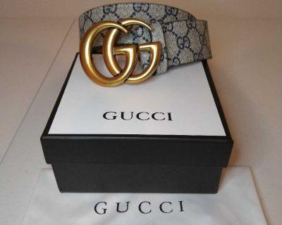 Gucci belt brand new size 32-36