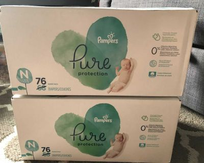 Pampers Pure Newborn Diapers