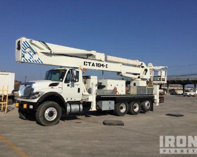 2010 Condor CTA-104-I 99 ft on 2011 International 7600 6x4 T/A Bucket Truck