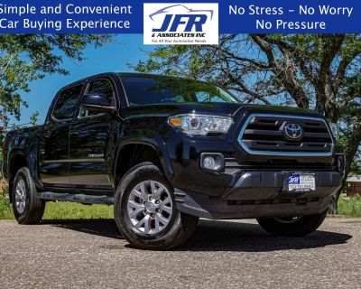 Used 2019 Toyota Tacoma 4WD SR5 Double Cab 5' Bed V6 AT (Natl)