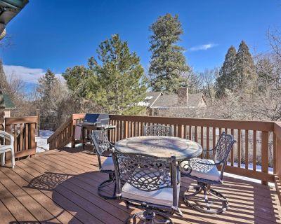 NEW! Hiker/Biker Paradise in Quiet Cheyenne Canon! - Southwest Colorado Springs
