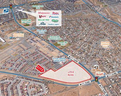 High-Traffic, Hard-Corner Land | Mixed Use Development Opportunity