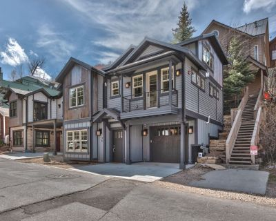 Old Town Park City. Hot tub, ski storage, game Room, outdoor grill - Downtown Park City