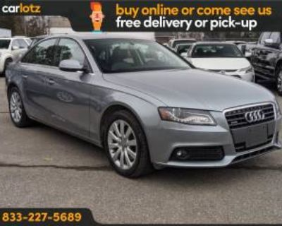 2011 Audi A4 Premium Plus Sedan 2.0T quattro Automatic