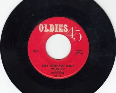 JIMMY REED ~ Baby What You Want Me To Do*Mint-45 !
