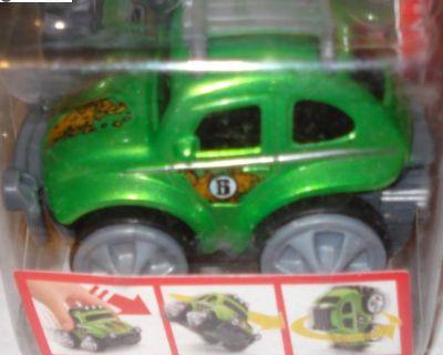 Fisher-Price Rev 'N Go Baja Beetle Stunt Racer