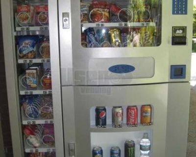 2009 Planet Antares / Purco Corp. Electrical Office Deli Snack, Beverage and Entree Vending Machines!!!