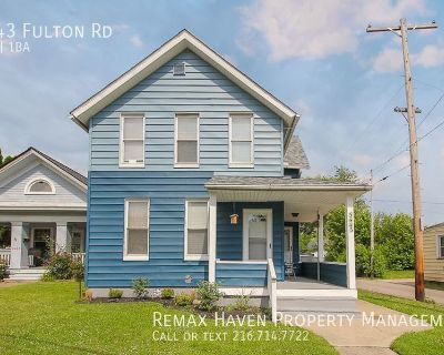 3443 Fulton Rd, UP, Cleveland - 3 bed 1 bath UP unit of 2 family home!