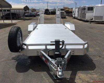ALUMINUM EQUIPMENT TRAILER, HEAVY DUTY UTILITY TRAILER GVWR 14,000 lbs, ALUMA TR-8220-14K