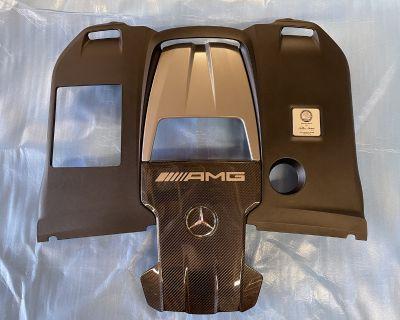 2019 Mercedes-Benz e63 amg carbon fiber engine cover