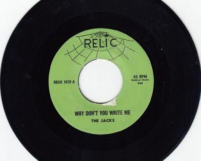 JACKS ~ Why Don't You Write Me*Mint-45 !