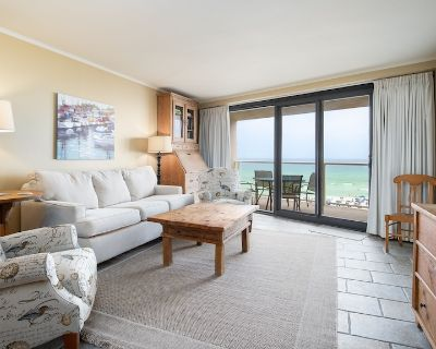 Stunning Views of Beach from the Balcony! Updated Decor, Pool & Hot Tub, Gym. - Sandestin