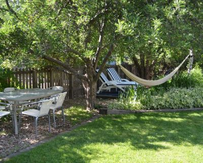Backyard and Bicycling Parkside Paradise with Hot Tub and Home Gym - Arapahoe Ridge
