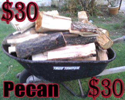 Pecan firewood (near outlet mall)