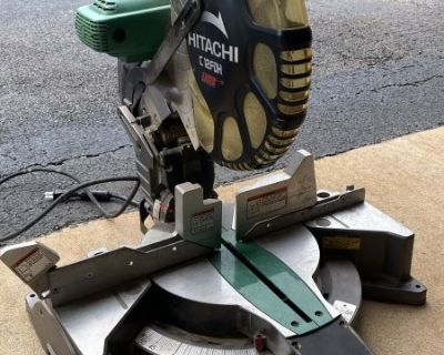 FS Hitachi 12 miter saw