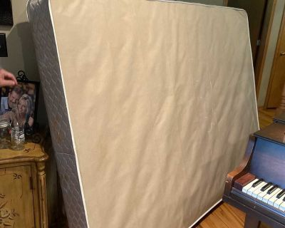 Queen size box spring FREE