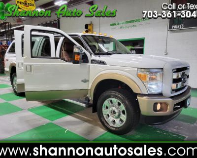 Used 2014 Ford F-350 SD King Ranch Crew Cab Long Bed 4WD