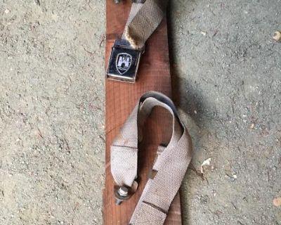 Type 3 Orig VW Rear Seat Belts
